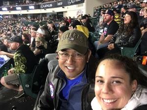 Manny attended Monster Energy Superscross on Jan 19th 2019 via VetTix