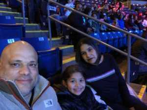 Jose attended Marvel Universe Live! Age of Heroes on Mar 1st 2019 via VetTix