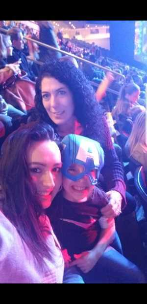Charlene attended Marvel Universe Live! Age of Heroes on Mar 1st 2019 via VetTix