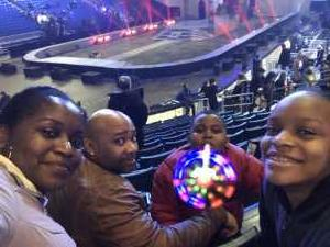 Tenisha attended Marvel Universe Live! Age of Heroes on Mar 1st 2019 via VetTix
