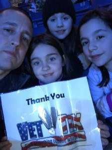Eugene attended Marvel Universe Live! Age of Heroes on Mar 1st 2019 via VetTix