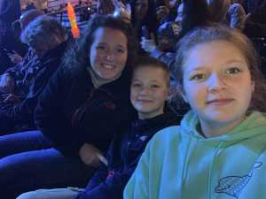 Quint attended Marvel Universe Live! Age of Heroes on Mar 1st 2019 via VetTix