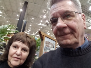 Gerald attended Great Big Home + Garden Show on Feb 1st 2019 via VetTix
