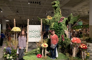 Frances attended Great Big Home + Garden Show on Feb 1st 2019 via VetTix