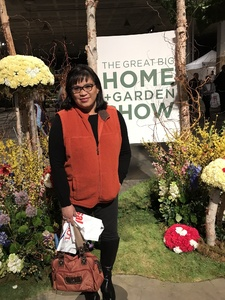 Yvonne attended Great Big Home + Garden Show on Feb 1st 2019 via VetTix