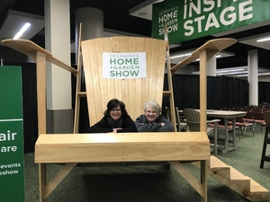 Edward's attended Des Moines Home + Garden Show on Feb 7th 2019 via VetTix
