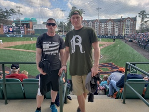 Adam attended Auburn University Tigers vs. Georgia Southern - NCAA Men's Baseball on Feb 16th 2019 via VetTix