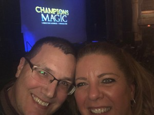 Thomas attended Champions of Magic - Saturday Evening Performance on Jan 26th 2019 via VetTix