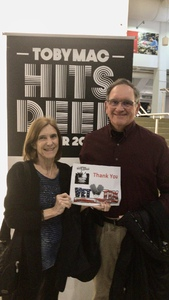 Daniel attended TobyMac Hits Deep Tour on Feb 7th 2019 via VetTix