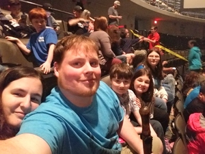 Johnson Family attended TobyMac Hits Deep Tour on Feb 7th 2019 via VetTix
