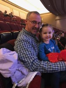 James attended Sesame Street Live! Let's Party! - Children's Theatre on Feb 13th 2019 via VetTix