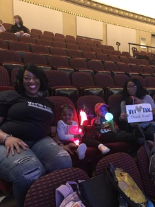 Angela attended Sesame Street Live! Let's Party! - Children's Theatre on Feb 13th 2019 via VetTix