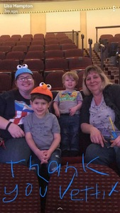 Kelly attended Sesame Street Live! Let's Party! - Children's Theatre on Feb 13th 2019 via VetTix