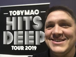 Ray attended TobyMac Hits Deep Tour on Feb 15th 2019 via VetTix