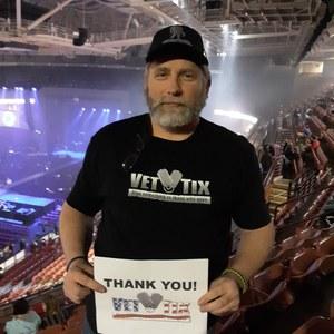 George attended TobyMac Hits Deep Tour on Feb 15th 2019 via VetTix
