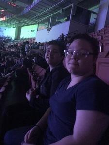 Jeffrey attended TobyMac Hits Deep Tour on Feb 15th 2019 via VetTix