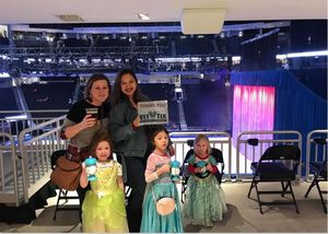 Chae' attended Disney on Ice Celebrates 100 Years of Magic - Ice Shows on Feb 14th 2019 via VetTix
