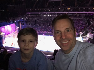 Vince attended Disney on Ice Celebrates 100 Years of Magic - Ice Shows on Feb 14th 2019 via VetTix