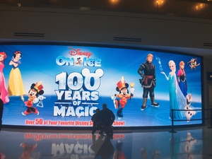 Trinity attended Disney on Ice Celebrates 100 Years of Magic - Ice Shows on Feb 14th 2019 via VetTix