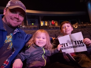 Dale attended Disney's D'cappella on Jan 30th 2019 via VetTix