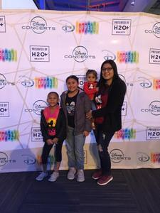 Prisiliano attended Disney's D'cappella on Jan 30th 2019 via VetTix