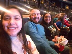 Richard attended Disney's D'cappella on Jan 30th 2019 via VetTix