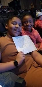 RASHIDA attended Disney's D'cappella on Jan 30th 2019 via VetTix