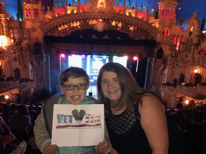 Bo attended Disney's Dcappella - Other on Jan 29th 2019 via VetTix