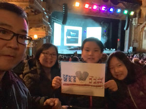 Giwon attended Disney's Dcappella - Other on Jan 29th 2019 via VetTix
