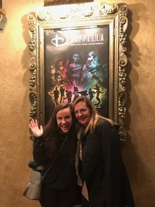 Valerie attended Disney's Dcappella - Other on Jan 29th 2019 via VetTix
