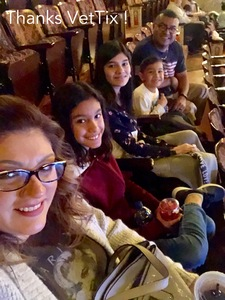 Joe M. IV attended Disney's Dcappella - Other on Jan 29th 2019 via VetTix