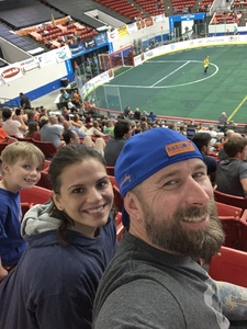 stephen attended Florida Tropics vs. Orlando Seawolves - Major Arena Soccer League on Feb 16th 2019 via VetTix
