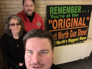 Matthew attended Dfw Original Fort Worth Gun Show - Presented by Premier Gun Shows - Saturday or Sunday on Feb 17th 2019 via VetTix