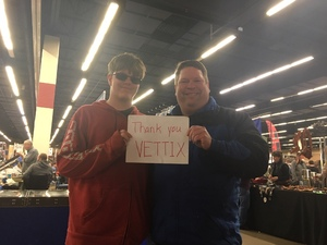 BOBBY attended Dfw Original Fort Worth Gun Show - Presented by Premier Gun Shows - Saturday or Sunday on Feb 17th 2019 via VetTix