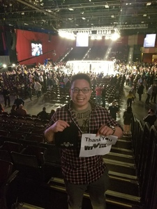 H. L. attended Cage Fury Fighting Championships 72 - Live Mixed Martial Arts on Feb 16th 2019 via VetTix
