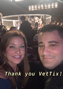 Benjamin attended Cage Fury Fighting Championships 72 - Live Mixed Martial Arts on Feb 16th 2019 via VetTix