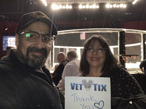 Ramon attended Cage Fury Fighting Championships 72 - Live Mixed Martial Arts on Feb 16th 2019 via VetTix