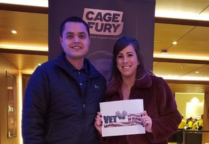Will Calderon attended Cage Fury Fighting Championships 72 - Live Mixed Martial Arts on Feb 16th 2019 via VetTix