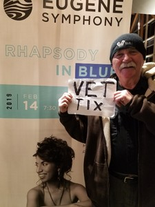Arthur attended Rhapsody in Blue - Presented by the Eugene Symphony on Feb 14th 2019 via VetTix