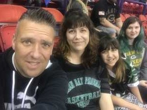 Scott attended Green Bay Blizzard vs. Cedar Rapids River Kings - Military Appreciation Night! - IFL on Jun 15th 2019 via VetTix