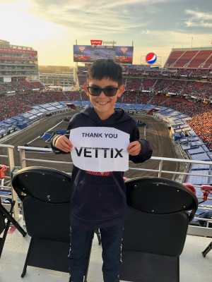 Vince attended Monster Jam - Motorsports/racing on Apr 13th 2019 via VetTix