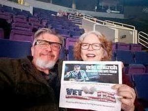 Michael attended Eric Church Tickets- St. Louis on Jan 25th 2019 via VetTix