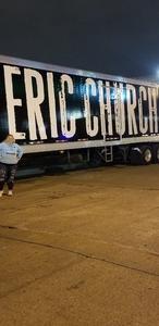 Josh Maroon attended Eric Church Tickets- St. Louis on Jan 25th 2019 via VetTix