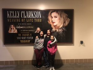 Carlos attended Kelly Clarkson: Meaning of Life Tour - Pop on Jan 25th 2019 via VetTix