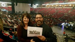 Daniel attended Kelly Clarkson: Meaning of Life Tour - Pop on Jan 25th 2019 via VetTix