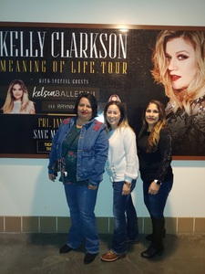 Gerald attended Kelly Clarkson: Meaning of Life Tour - Pop on Jan 25th 2019 via VetTix