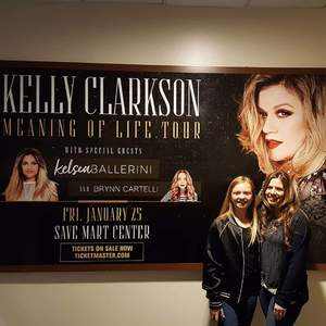 Jennifer (spouse) attended Kelly Clarkson: Meaning of Life Tour - Pop on Jan 25th 2019 via VetTix
