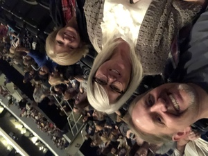 James attended Kelly Clarkson: Meaning of Life Tour on Jan 26th 2019 via VetTix