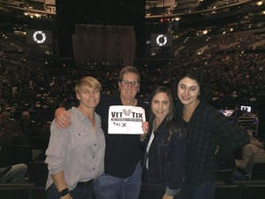 Sue attended Kelly Clarkson: Meaning of Life Tour on Jan 26th 2019 via VetTix