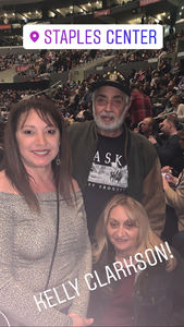 Tony attended Kelly Clarkson: Meaning of Life Tour on Jan 26th 2019 via VetTix